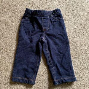 Carter's 9 months leggings jeans